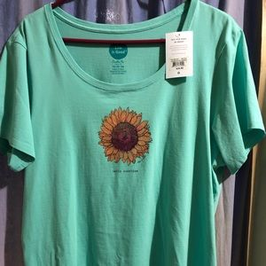 Life is Good NWT Ladies XL Crusher Tee